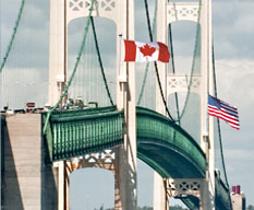 Canada/USA border crossing