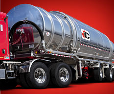 Tanker transportation throughout Ontario, Quebec and the USA